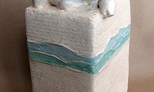 Paper Mache Calf