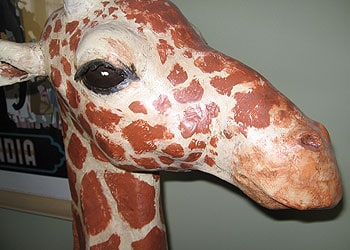 How to Make a Paper Mache Giraffe