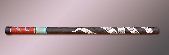 Paper Mache/PVC Didgeridoo