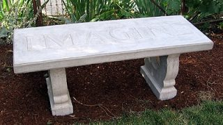 Custom Concrete Bench