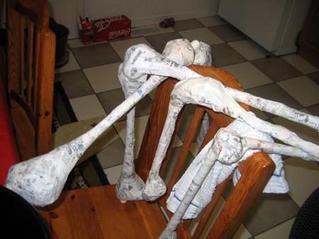 Halloween Skeleton - in Progress