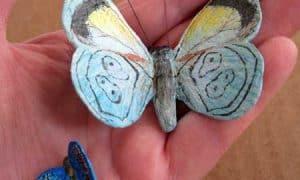 Paper Mache Butterflies