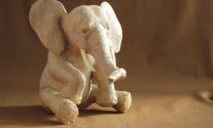 Paper Mache Elephant