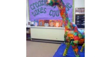 Paper Mache Giraffe