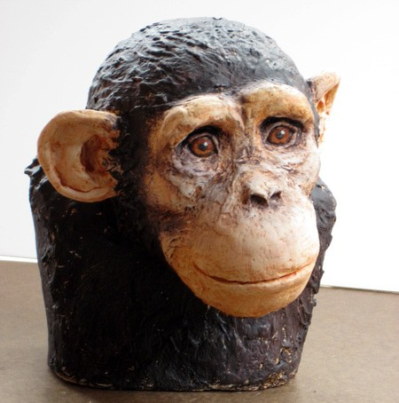Painting the Chimp | Ultimate Paper Mache