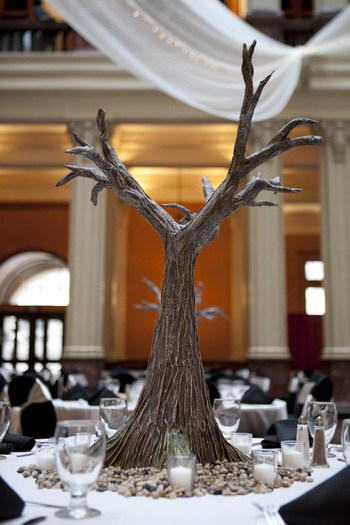 Paper Mache Trees Handcrafted Wedding Decor Ultimate