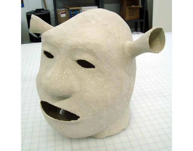 Pepakura + Paper Mache Clay