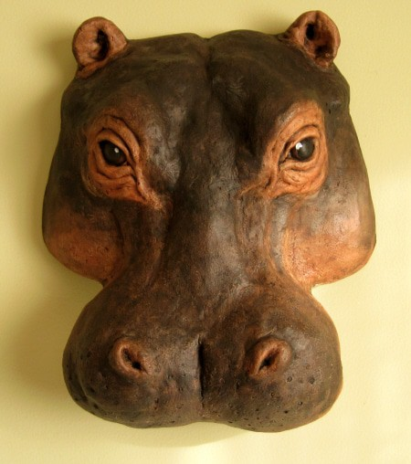 Hippo Wall Hanging