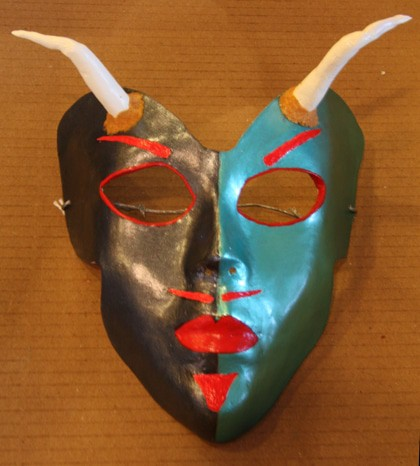 Two-Faced Devil Mask