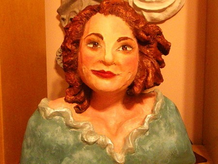 Joanne's Self-Portrait in Celluclay