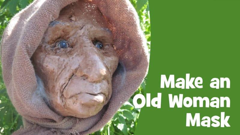 Make an old woman mask
