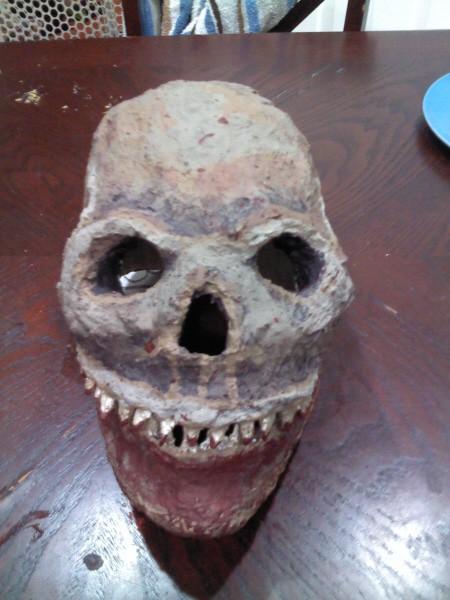Genivieve's Paper Mache Mask