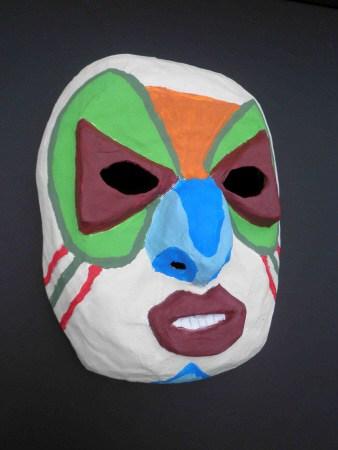 Christine's Paper Mache Mask