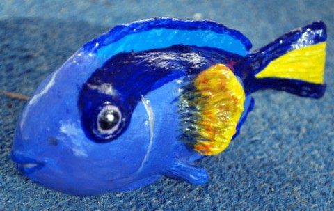 Reef Fish Made with DIY Air Dry Clay