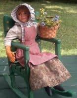 Paper Mache Doll-the Sunday Gardener