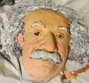 Paper Mache Einstein