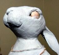 Ballerina Bunny Gets Paper Mache