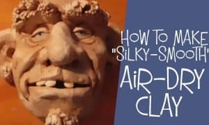 How to make air dry clay.