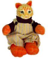 Orange Tabby Kitten Doll