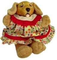 Golden Retriever Puppy Doll