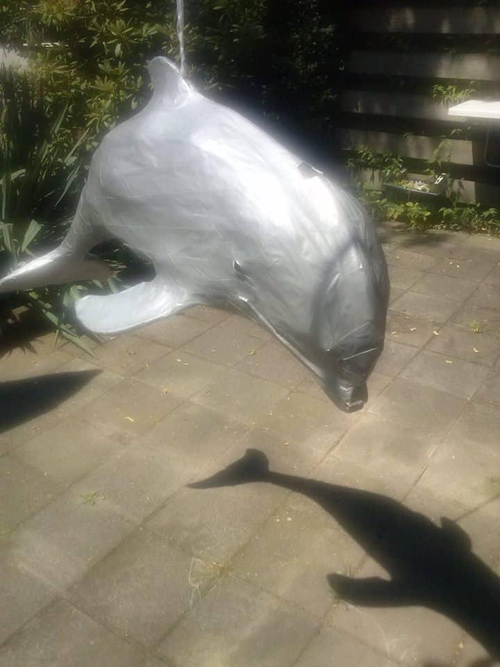 Soul's Paper Mache Dolphin Sculpture - Guest Tutorial