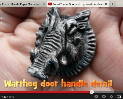 Bwana Foster's Sculpted Safari Door Handles - Guest Post