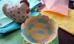 Easy Paper Mache Bowl