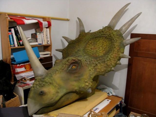 Myrtle the styracosaurus