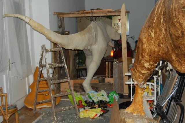 dinosaur building workshop