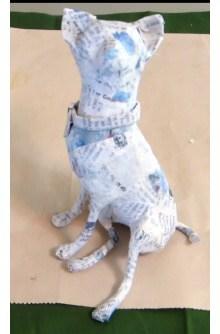 Paper Mache Chihuahua