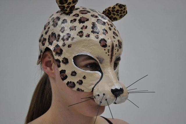 Paper mache masks for ballet production guest post ultimate paper mache - Masque papier mache ...