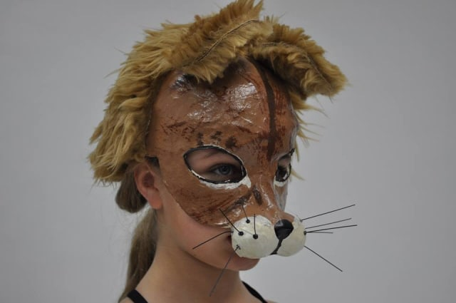 Baby Lion Mask