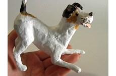 Paper Mache Terrier