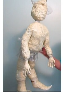 armature for scarecrow sculpture