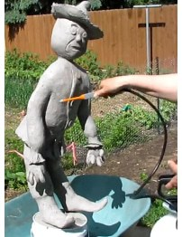 Waterproofing paper mache clay final post for now for How to make paper mache waterproof
