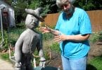 Outdoor Paper Mache Sculpture