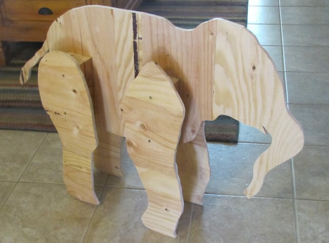 Linda s paper mache elephant ultimate paper mache for What to make out of paper mache