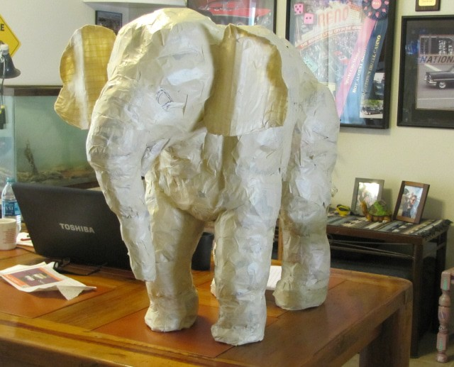 linda s paper mache elephant ultimate paper mache