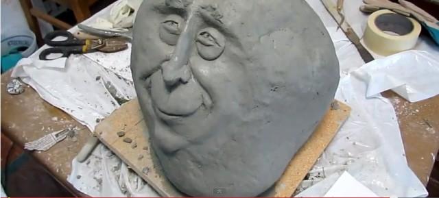 Make a Ferrocement Stone Face