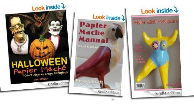 Paper Mache Books on Kindle