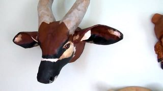 Paper Mache Bongo Antelope