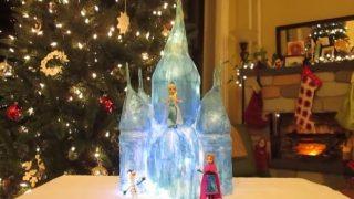DIY Paper Mache Ice Castle