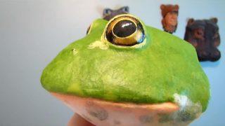 Pattern for Bullfrog Wall Sculpture