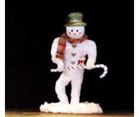 paper mache snowman tn