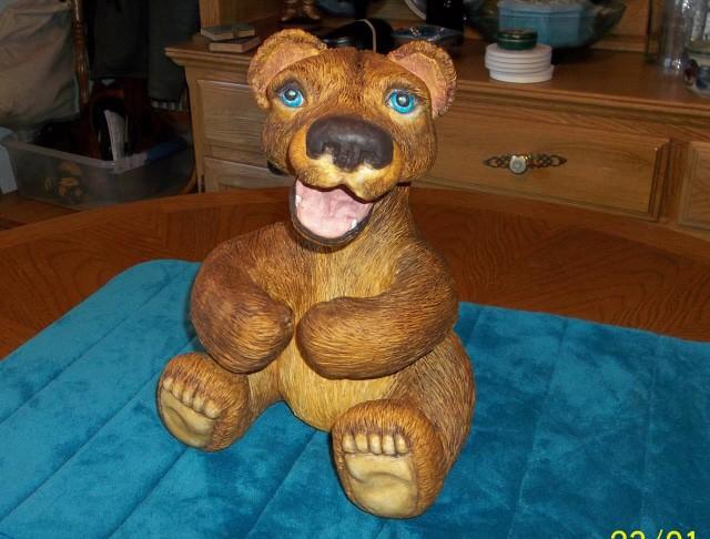 paper mache bear 10