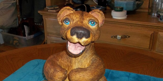 Ceramic Artist Makes a Bear With Paper Mache Clay