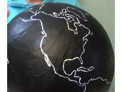 Chalkboard Ancestor Globe