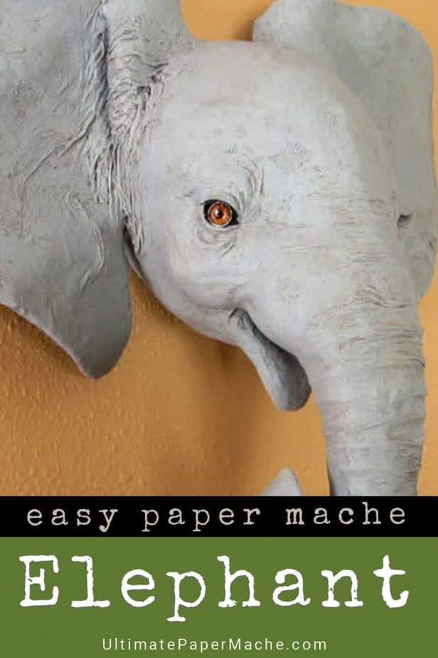 Elephant wall sculpture