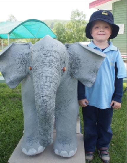 Jumbo the baby elephant