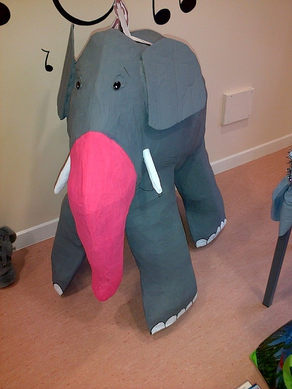 Teresa's elephant for her son